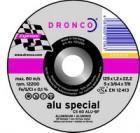 Tarcza do cięcia stali i metali kolorowych (korund, elektrokorund) - CS 60 ALU  special  125 mm