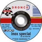 Tarcza do cięcia stali i metali kolorowych (korund, elektrokorund)- AS 46 T INOX special 125 mm