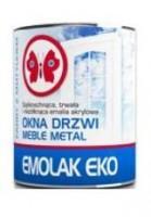 EMOLAK EKO emalia akrylowa biała, połysk 0.8l