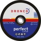 Tarcza do cięcia stali i metali kolorowych (korund, elektrokorund)-  A 24 R perfect  125  mm