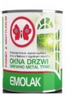 EMOLAK emalia ftalowa ogólnego stosowania-  zielona jasna RAL  6018  0.8l