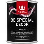 Be Special Decor Marmo- Farba strukturalna  do ścian i sufitów, pozwalająca na uzyskanie efektu marmuru. Biały 0.9l
